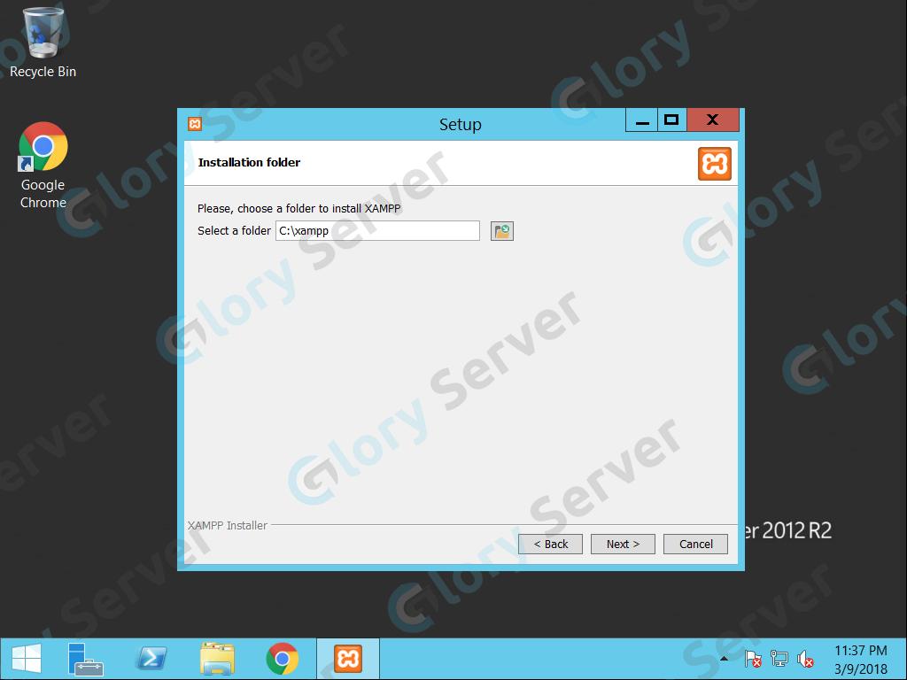 آموزش نصب و راه اندازی xampp در ویندوز سرور